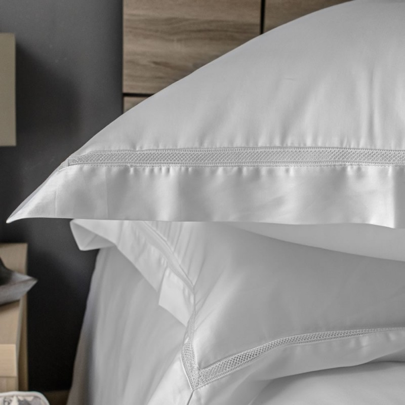 Pillowcase Oxford Egyptian Cotton 300 Thread Count Victoria