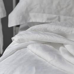 Pillowcase Oxford Linen Atlanta with Ruffled Bedding