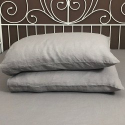 Pillowcase Classic Linen Atlanta Grey
