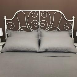 Pillowcase Oxford Linen Atlanta Grey