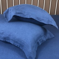 Pillowcase Oxford Linen Atlanta Blue