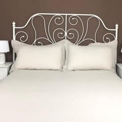 Pillowcase Oxford Linen Atlanta Cream