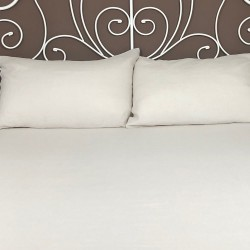 Fitted Sheet Linen Atlanta Cream