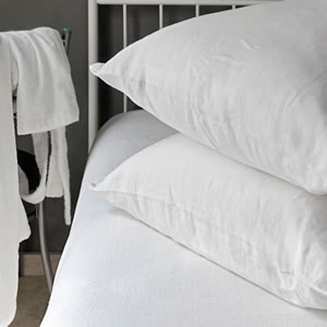 Flax linen bedding Atlanta Collection