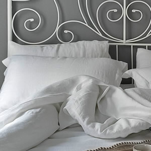 Atlanta duvet cover from luxury linen