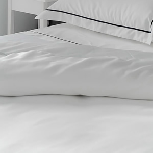 Egyptian Cotton flat sheet Harmony Collection 300 thread count