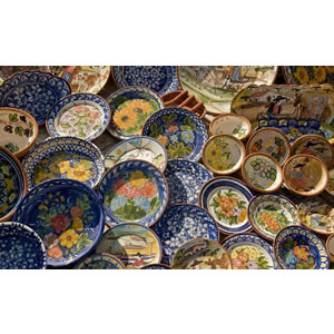 Typical Portuguese ceramic plates