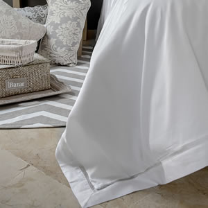 Victoria Collection cotton luxury natural bedding range