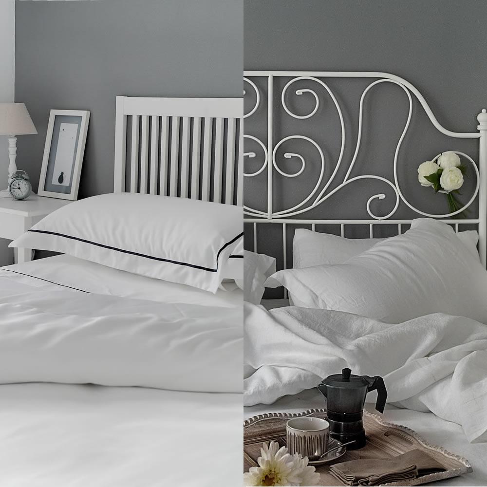 Linen versus egyptian cotton bedding