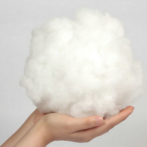 ball of cotton in hand