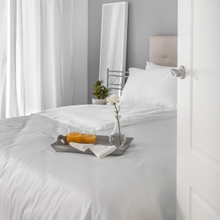 White Egyptian Cotton Bedding
