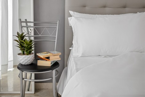 White Luxury Bedding