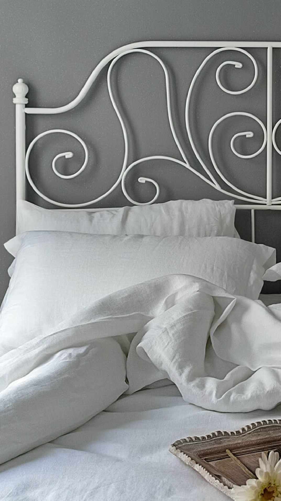 Pure Linen Flat Sheets from Connie Home
